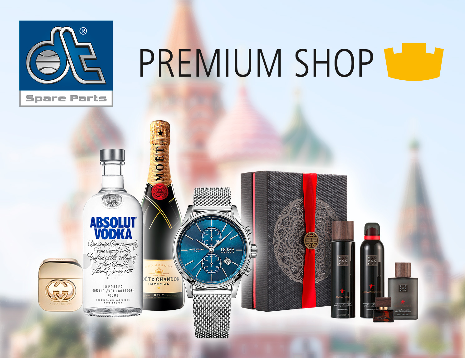 "Welcome Russia"" – Special Promotion in the Premium Shop"