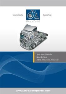 Catalogue suitable for Mercedes-Benz Actros, Antos, Arocs